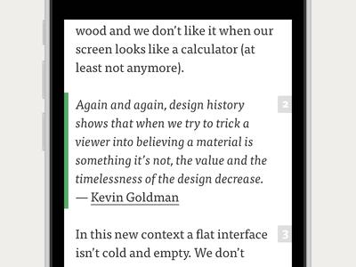 Post concept ios iphone medium post app