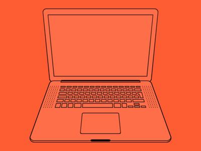MacBook macbook pro retina apple laptop computer illustration