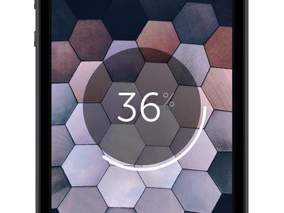 Uploading wetransfer iphone wallpaper background upload uploading progress download downloading spinner bar disk