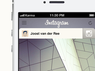 Instagram concept instagram concept ios iphone app photos