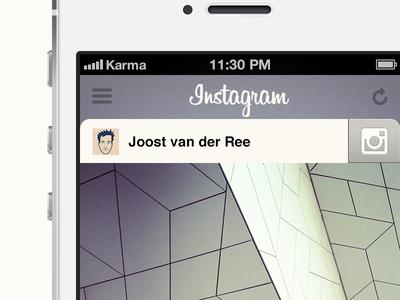 Instagram concept instagram concept ios iphone app photos