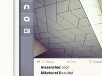 Sidebar - Instagram concept
