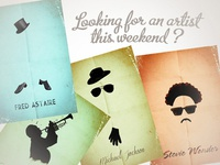 Looking for an artist this weekend ?