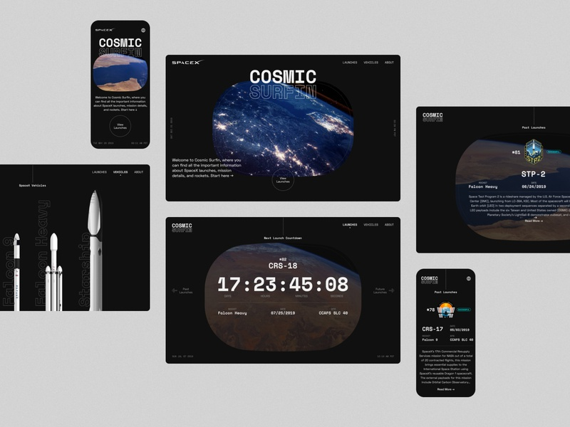SpaceX Cosmic Surfin - 02