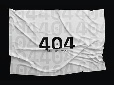 404 Page website web web design ui poster design design graphic design typography