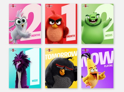 The Angry Birds Movie 2 Social Assets - Instagram Static