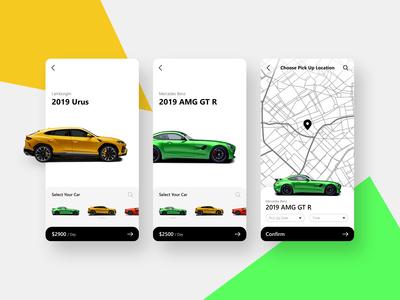 Luxury Car Rental App