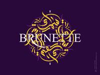 Brunette | Calligraphy