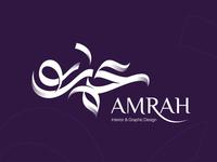 Amrah | Calligraphy Logo