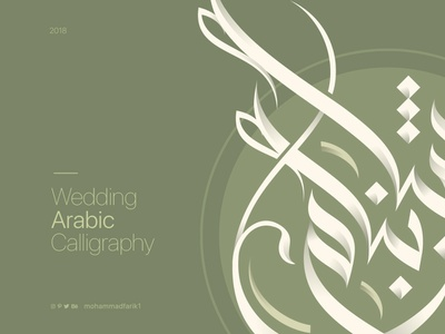 Najeeb & Shabnam   Calligraphy logodesign identity arabiccalligraphy design syrianart calligraph branding art arts typeface brand logo design illustration logo type arabic logos mohammadfarik calligraphy typography