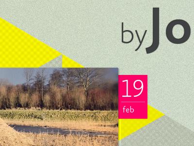Snapshot of our new blogs blog ui webdesign fotoblog