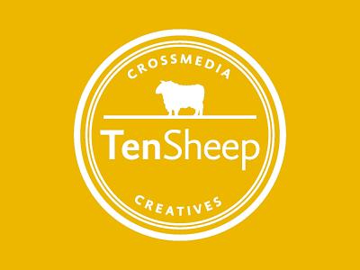 New Ten Sheep Logo logo tensheep sheep brand