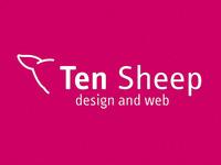 Ten Sheep logo version 7