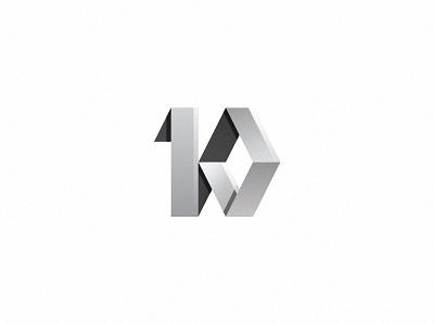 10 Years Renault Trucks Bulgaria trucks renault years 10 logo logotype typography identity