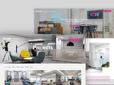 Stabb Interiors Website ui design webdesign website design web design web