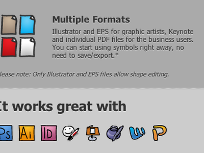 Multiple formats... icons icon sketch draw doodle website