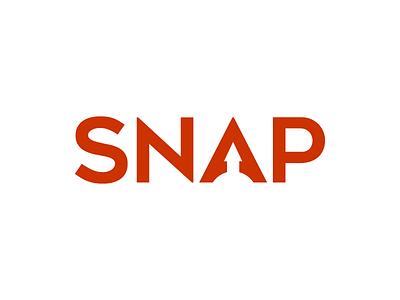 Snap red rocket logo fireworks snap