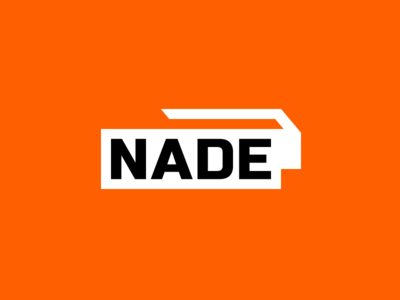 Nade Logo orange gaming esports logo grenade
