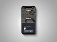 Butcher Website Homepage - Mobile