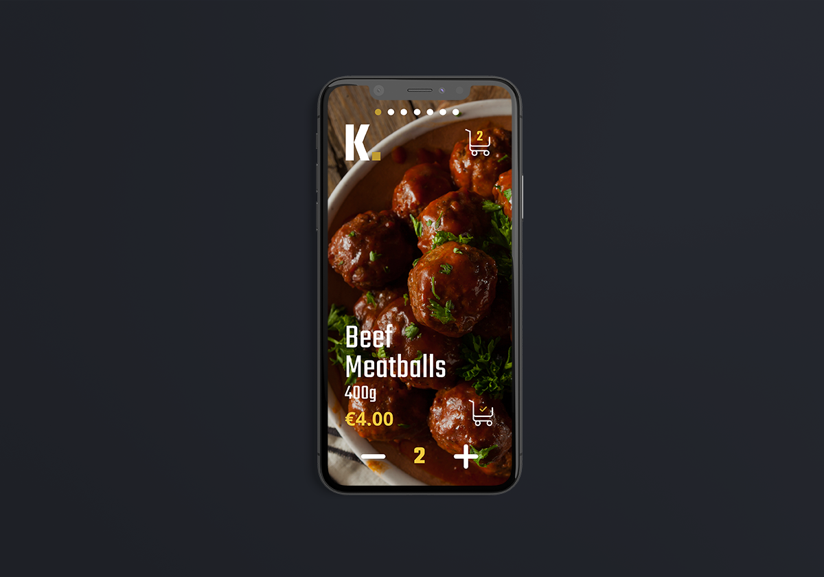 Dribbble meatballs