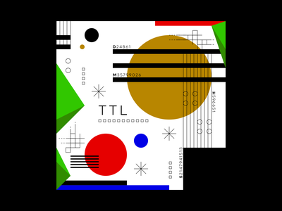 TTL designer information data vector experimental graphicdesign experiments design typography type
