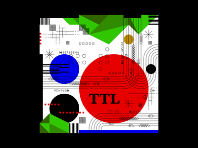 TTL illustration information data vector experimental graphicdesign experiments design typography type