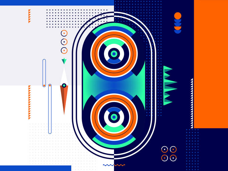 36 Days Of Type_0   6th Edition 0 36daysoftype 36days experimental experiments typography type 36 infographic information output input data flat vector art vector illustration graphicdesign design geometric