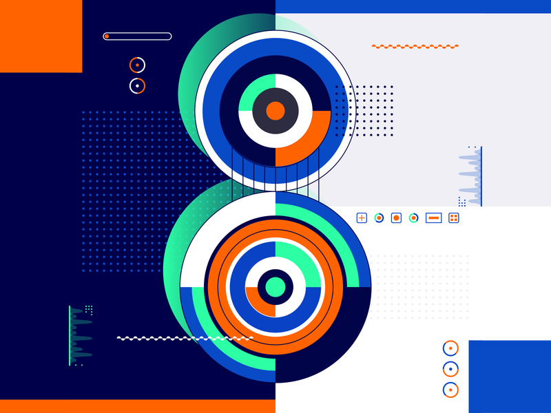 36 Days Of Type_8   6th Edition 8 geometric design graphicdesign illustration vector vector art flat data input output information infographic 36 type typography experiments experimental 36days 36daysoftype
