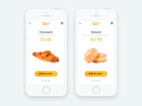 Bakery - Mobile app