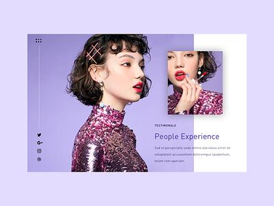 Headshot - Branding branding typography fashion website design web design