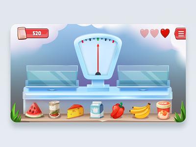 Balance it Game blender 3dsmax ui wixot mobilegames dribbble games design illustration colorful cartoon
