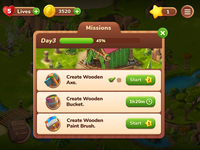 The mysterious island ( Missions )