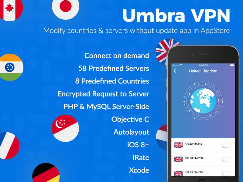 VPN Service - Presentation Screen by Design Accelerator