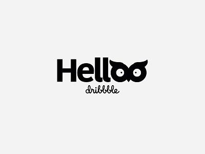Helloo Dribbble! studio woop creative shot first hello
