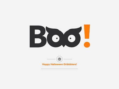 Happy Halloween Dribbblers! helvetica day special boo halloween happy