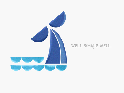 Well whale well colorful illustration geometry whale