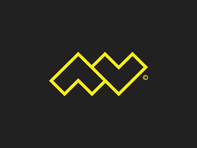 ML + Arrows / Letter Mark © branding symbol lettermark monogram logo