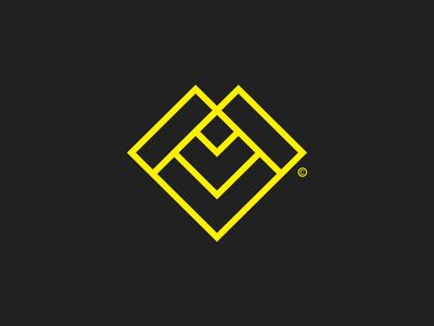 ML / Letter Mark© branding symbol lettermark monogram logo