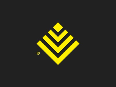 Pyramid / Symbol Mark© mark icon symbol branding square pyramid symbol logo